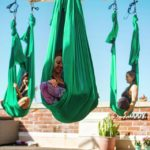 Aerial Rooftop Yoga Trilogy Sanctuary