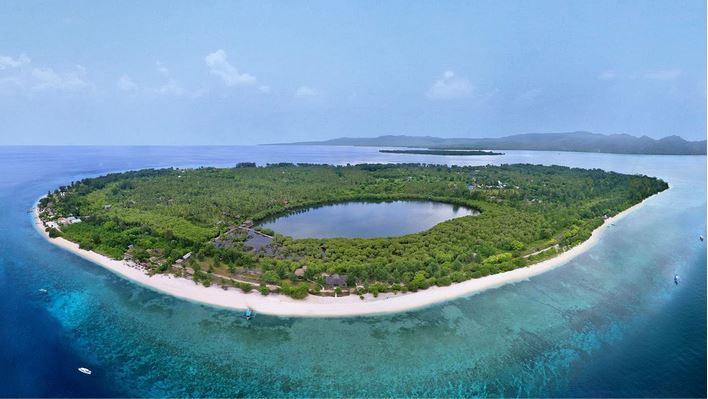 Gili Meno Island Indonesia