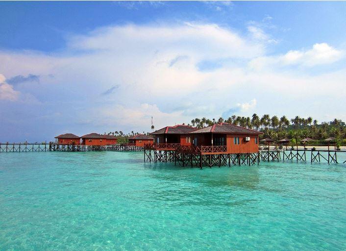 Island of Derawan, Indonesia