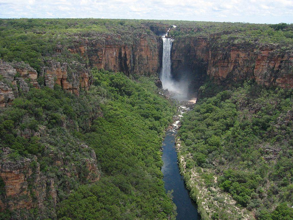 Kakadu Nationak Park Jim Jim Falls