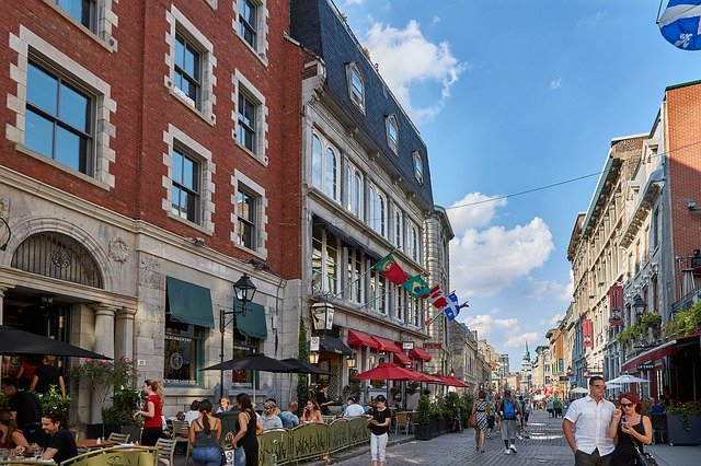 Downtown Montreal Canada