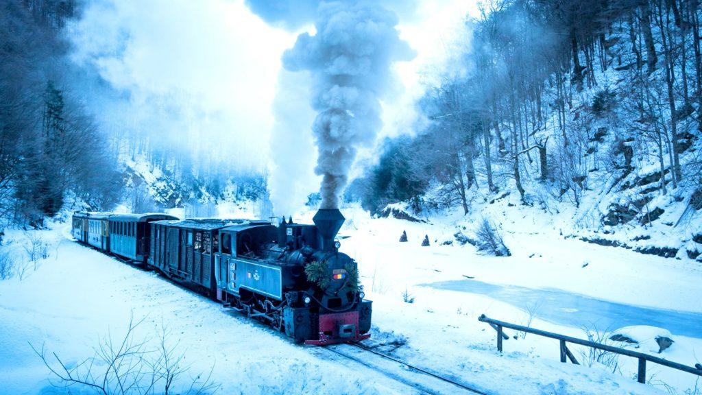 Stream Train Romania