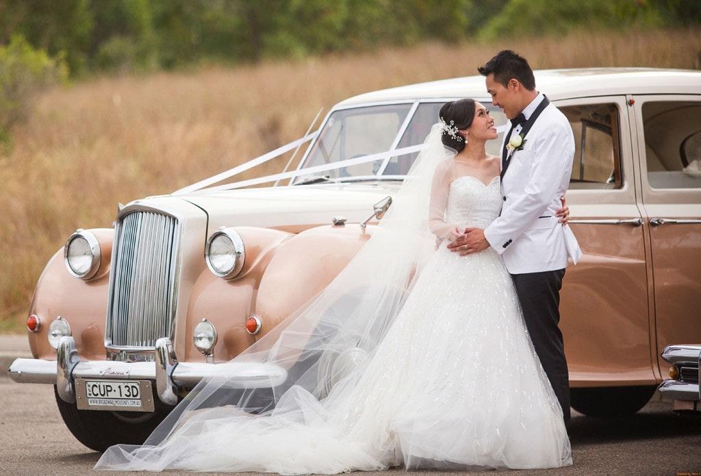 Vintage Wedding Car Australia