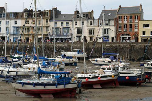 Devon England port town
