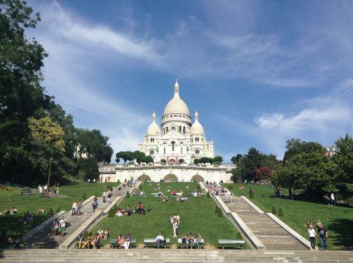 Sacre Coeur Montpartre Paris