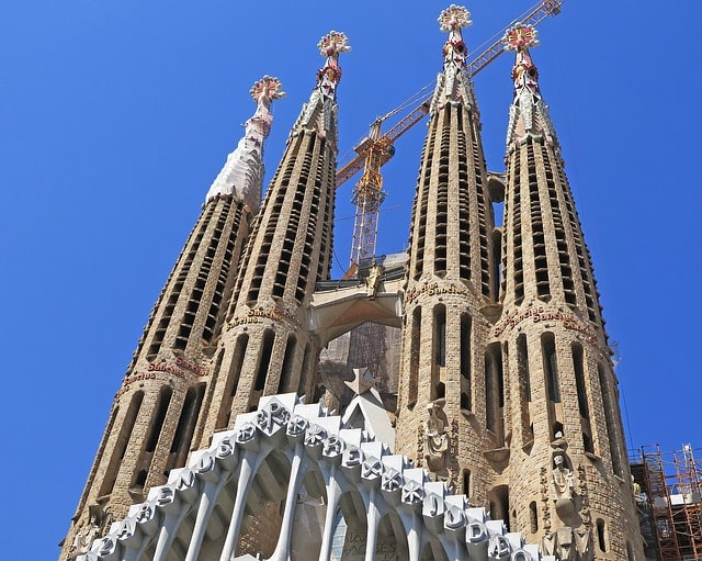 Gaudi Architecture Spain