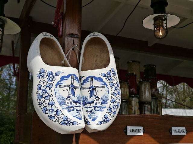 Delft Wooden Shoes
