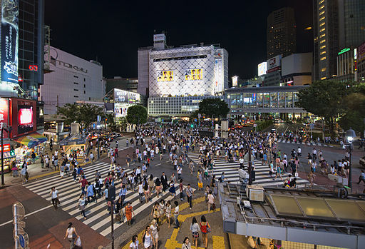 Shibuya Crossing Toyko