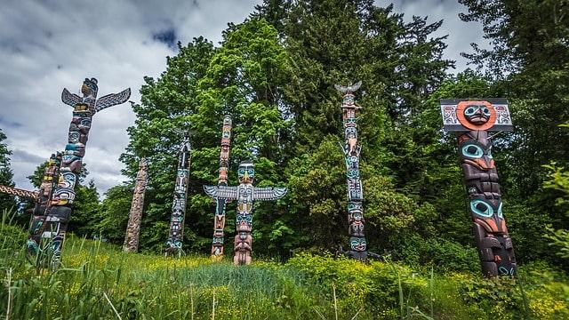 Canada Totem Poles