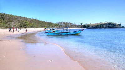 Bali Pink Beach