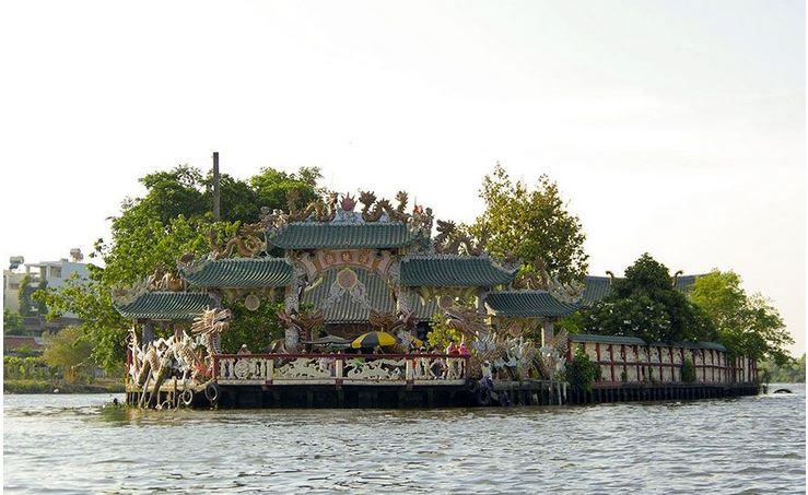 Floating Temply Ho Chi Minh City