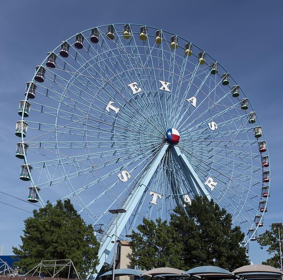 Texas Fair Ferris Wheel