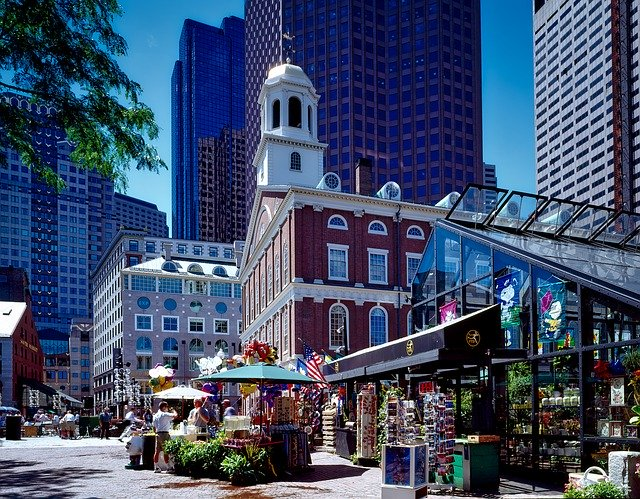 Faneuil Hall Marketplace Boston