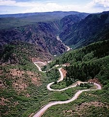 Gunnison National Park Colorado