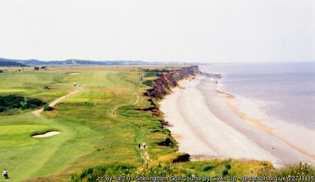 Sheringham Golf Club Norfolk Englalnd