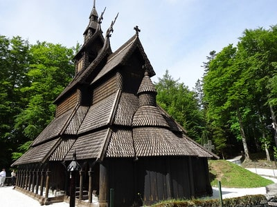 Fantoft Stave Church Bergen Norway