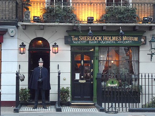 Sherlock Holmes Museum Portsmouth England
