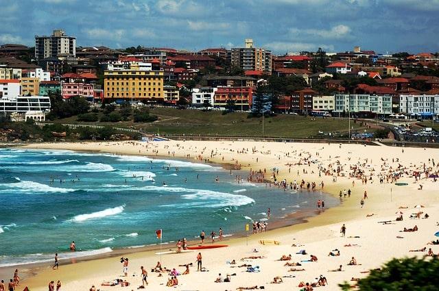Bondi Beach Surfing
