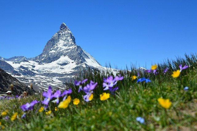 Zernatt Hiking Switzerland