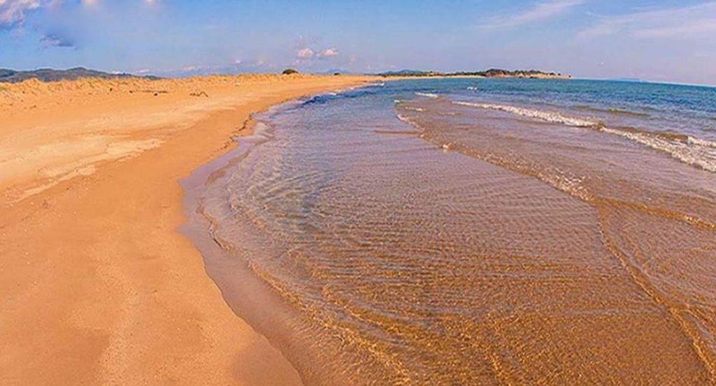 Chalikounas Beach Corfu Greece