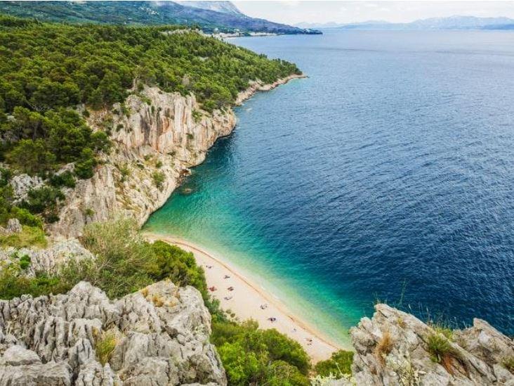 Croatia Secluded Beach