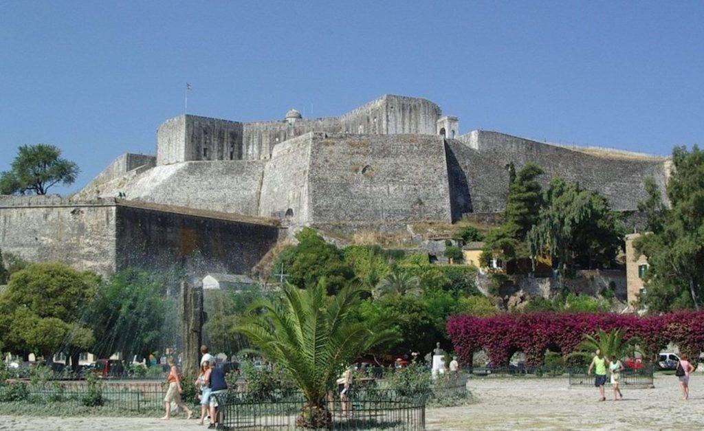 New Fortress Corfu Greece