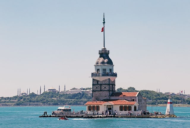 Maiden's Tower Istanbul Turkey