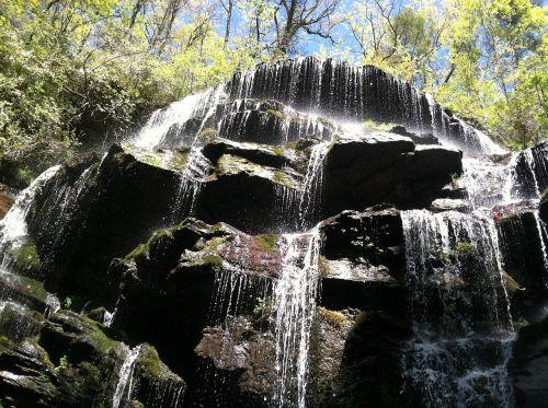 South Carolina Waterfalls