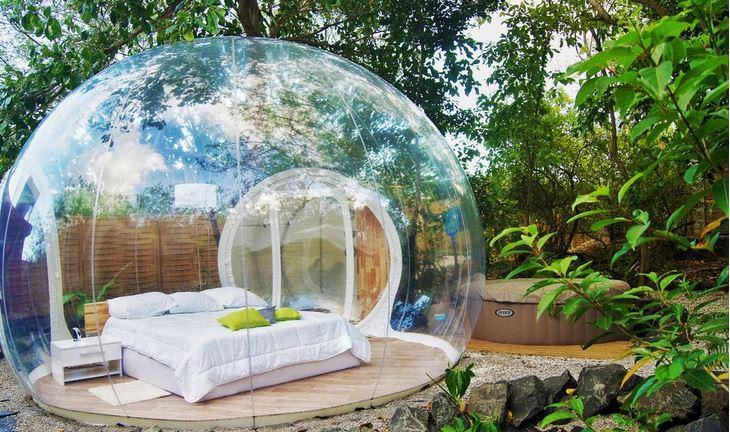 Bubble Hotel Bedroom