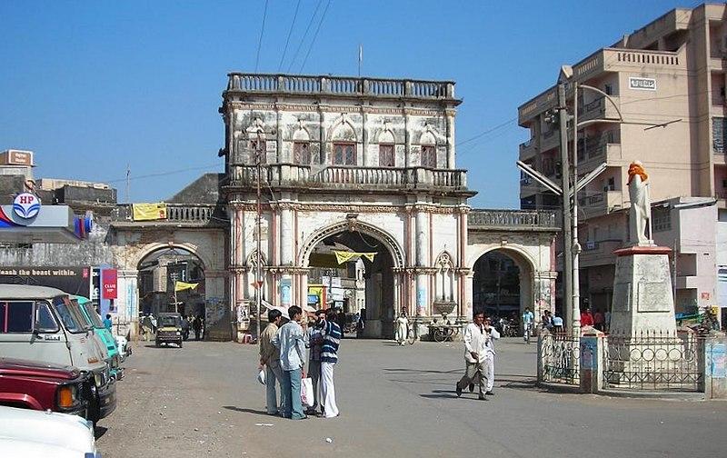 Dhoraji Fort India