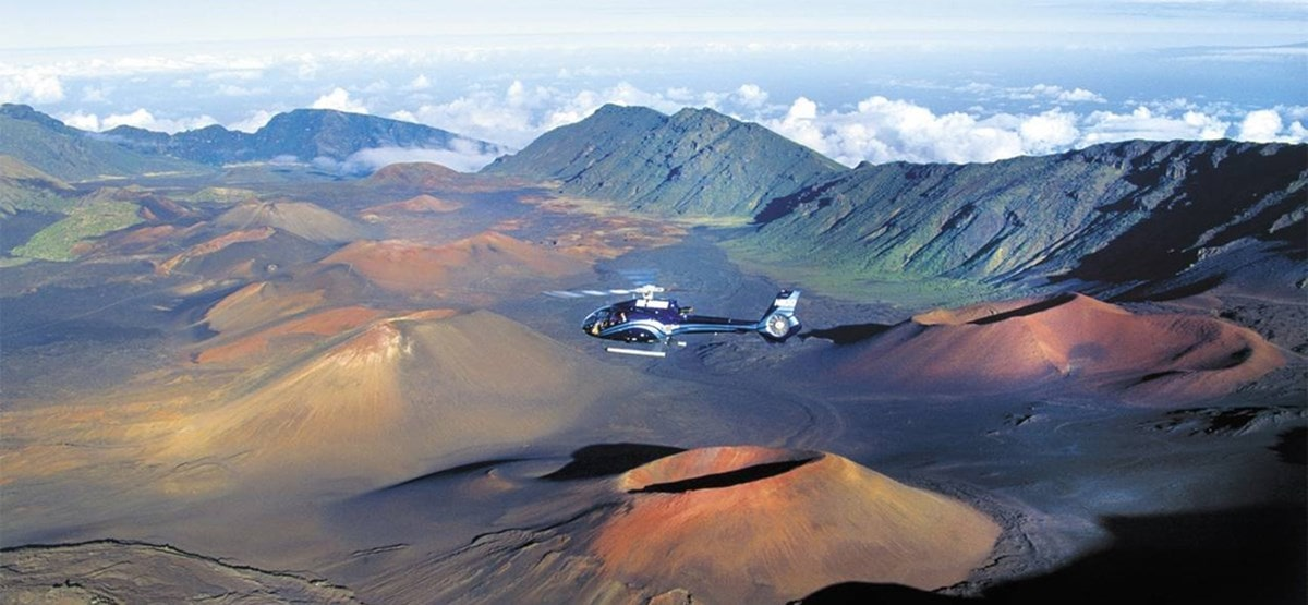 Helicopter Tour Haleakala Hawaii