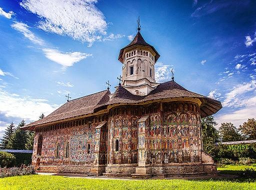Painted Church Romania