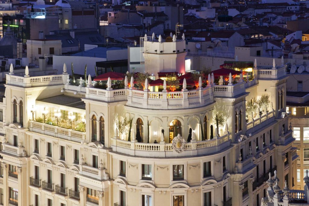 Principal Hotel Roof Top Bar Madrid