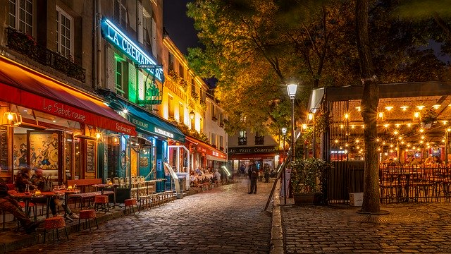 Romantic Paris Meals