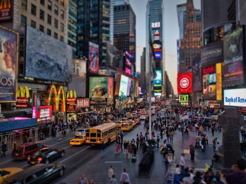New York City Sidewalks