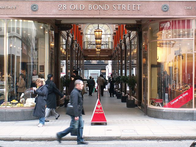 Bond Street Shopping London