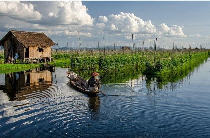 Myanmar Floating Gardens