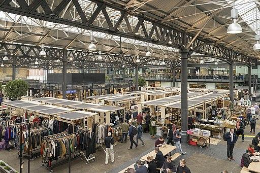 Old Spitafilds Market London