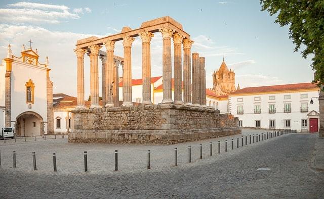 Roman Site Evora Portugal