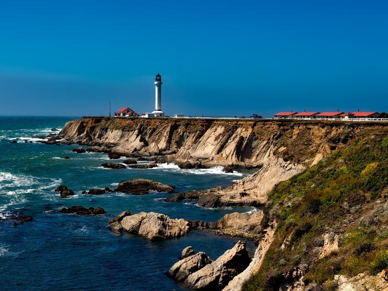 California Lighthouse Hiking Trails