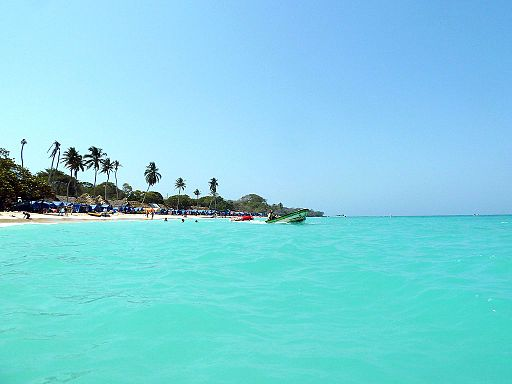 Playa Blanca, Cartagena, Columbia