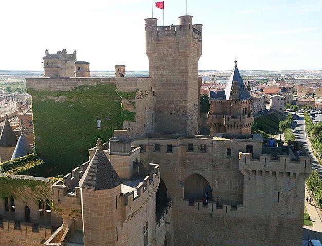 Castillo de Olite Navarre Spain