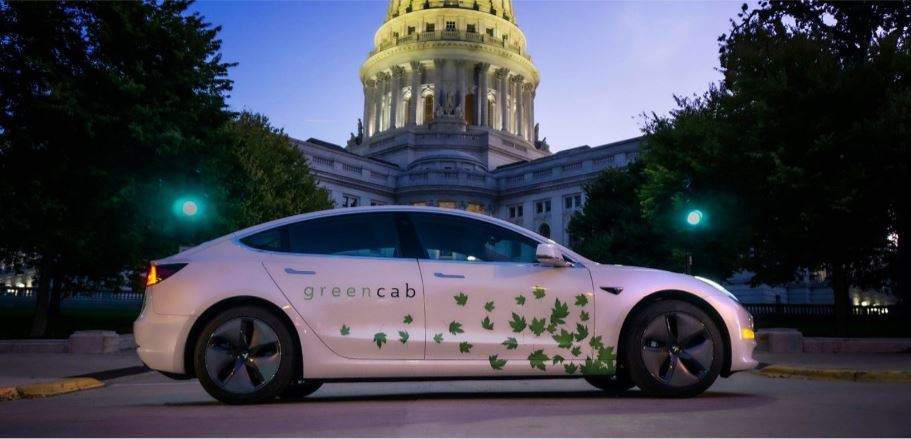 Electric Taxi Cab