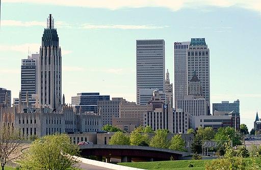 Tulsa Oklahoma Skyline