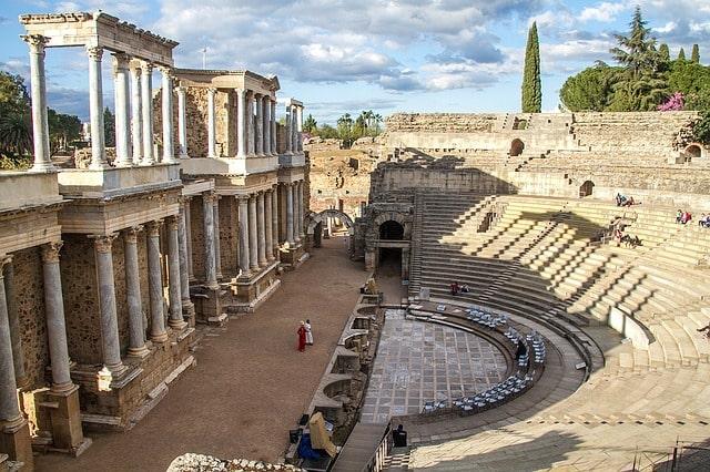 Merida Ancient Theatre Spain