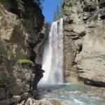 Johnson Canyon Waterfall Canada
