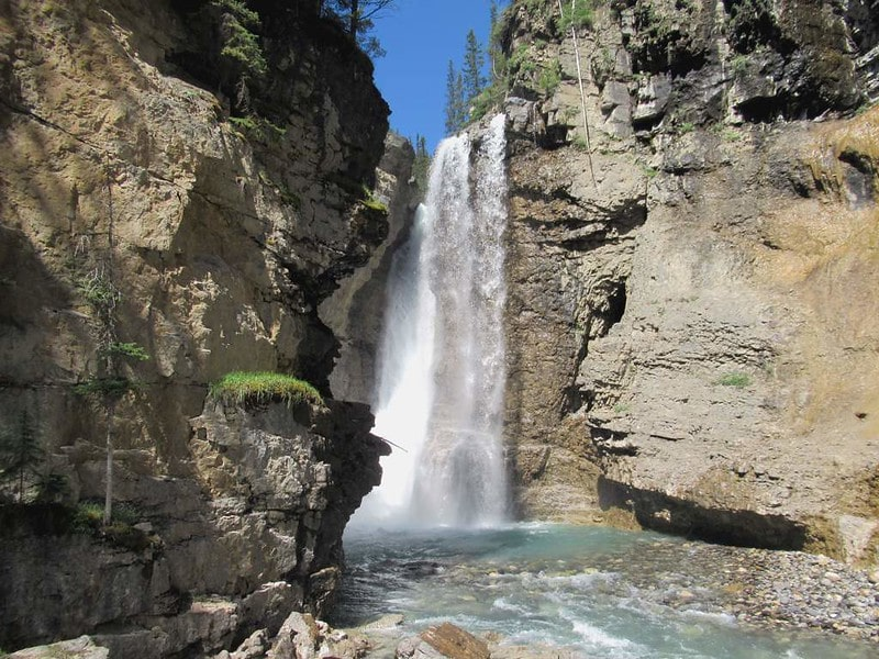 Johnston Canyon Waterfall Canada