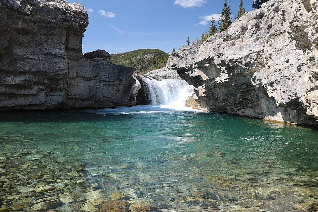 Elbow Falls Alberta Canada
