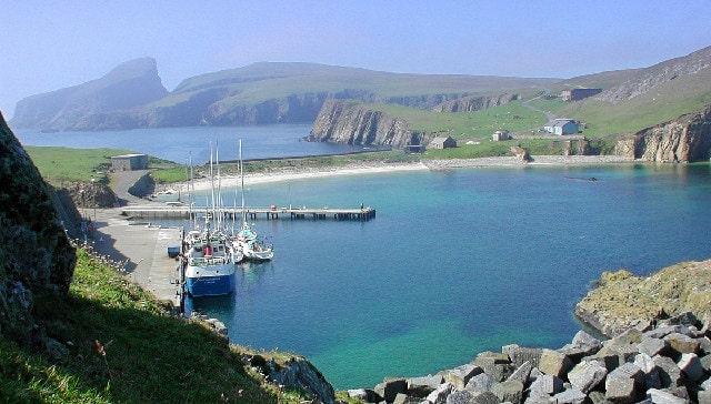Faie Isle Scotland