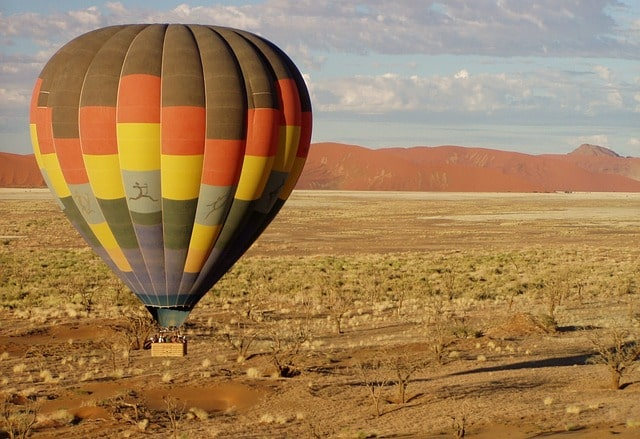 Nambia Hot Air Ballooning